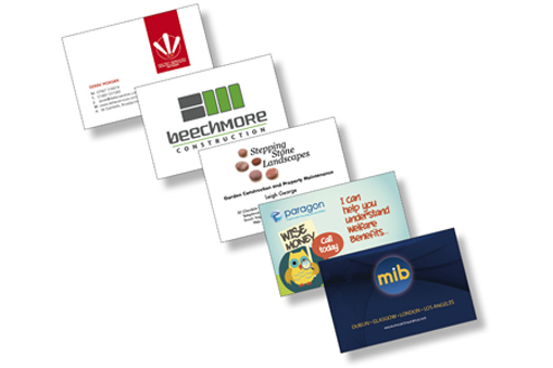 Business Cards available from IJ Graphics